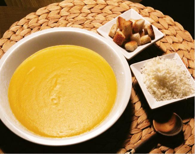 Crema densa carote