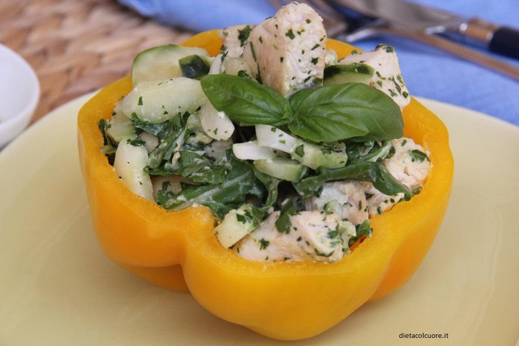 dietacolcuore_insalata di pollo e cetrioli